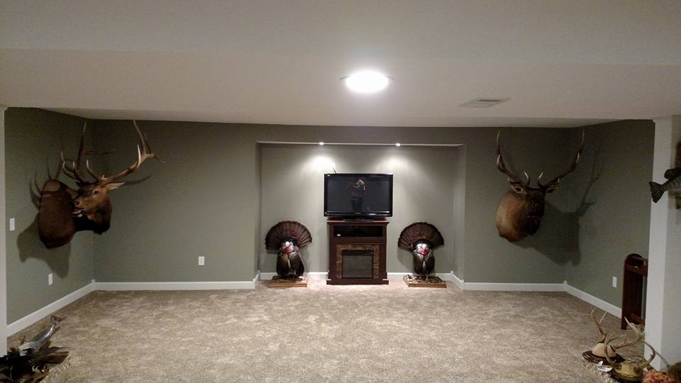 Basement Remodel Roaming Shores, Ohio